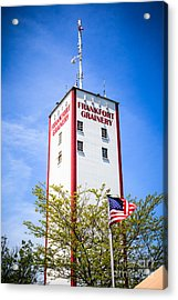 Picture Of Frankfort Grainery In Frankfort Illinois Acrylic Print by Paul Velgos