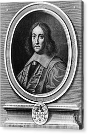 Pierre De Fermat, French Mathematician Acrylic Print by Photo Researchers, Inc.