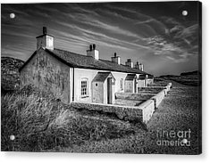 Pilot Cottages Acrylic Print by Adrian Evans