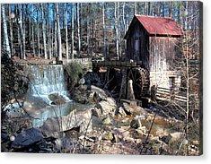 Pine Run Mill Acrylic Print by Rick Mann
