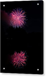 Pink Fireworks Acrylic Print by James BO  Insogna