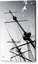 Pirate Ship Acrylic Print by Joana Kruse