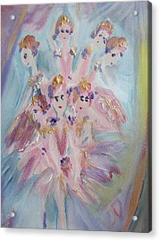 Pirouette Acrylic Print by Judith Desrosiers