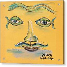 Pisces Acrylic Print by Sladjana Lazarevic