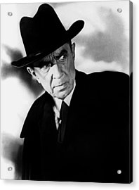 Plan 9 From Outer Space, Bela Lugosi Acrylic Print by Everett