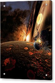 Planet Formation Acrylic Print by Don Dixon