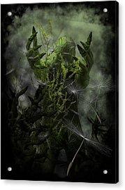 Plant Man Cometh Acrylic Print by Michael Knight