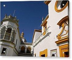 Plaza De Toros De La Real Maestranza - Seville Acrylic Print by Juergen Weiss