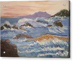 Point Reyes Storm Acrylic Print by Al Steinberg