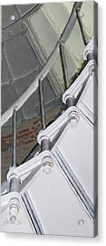 Point Sur Lighthouse Stairway Acrylic Print by Jim Pavelle