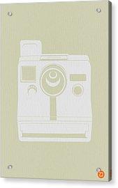 Polaroid Camera 3 Acrylic Print by Naxart Studio