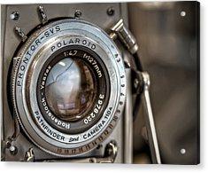 Polaroid Pathfinder Acrylic Print by Scott Norris
