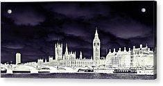 Political Storm Acrylic Print by Sharon Lisa Clarke