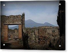 Pompei Acrylic Print by Kevin Flynn