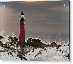Ponce Deleon Light House Acrylic Print by Kathy Flugrath Hicks
