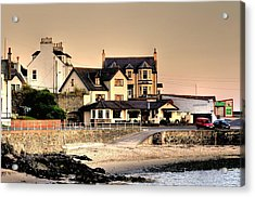 Port Patrick Acrylic Print by Barry R Jones Jr