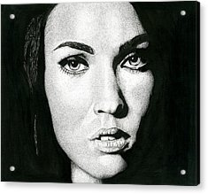 Portrait  Acrylic Print by Ian Tullock