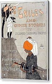 Poster Advertising Richard Harding Acrylic Print by Everett