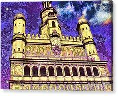 Poznan City Hall Acrylic Print by Mo T