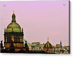 Prague - A Living Fairytale Acrylic Print by Christine Till