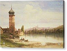 Prague Czechoslovakia Acrylic Print by William Wyld