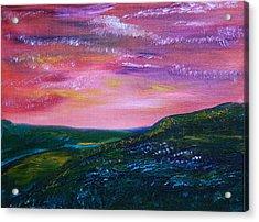 Prairie Lights Acrylic Print by James Bryron Love