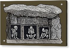 Prehistoric Tomb, Sweden Acrylic Print by Sheila Terry