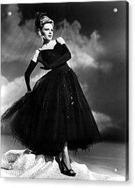 Presenting Lily Mars, Judy Garland, 1943 Acrylic Print by Everett