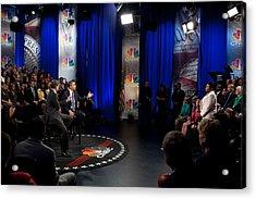 President Barack Obama Participates Acrylic Print by Everett