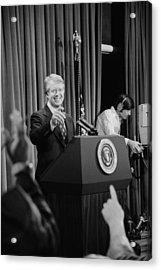 President Jimmy Carter Taking Acrylic Print by Everett