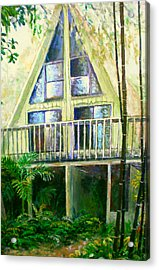 Presley House Acrylic Print by Lou Ann Bagnall
