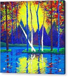 Primavera Acrylic Print by Randall Weidner