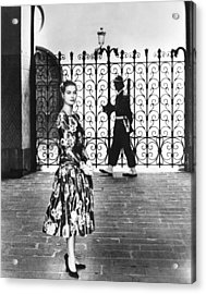 Princess Grace Kelly, 1956 Acrylic Print by Everett