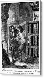 Prison: Cage, 17th Century Acrylic Print by Granger