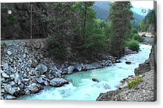 Pristine River Acrylic Print by Aamir Khayam