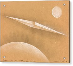 Procon Above Earth Acrylic Print by Albert Notarbartolo