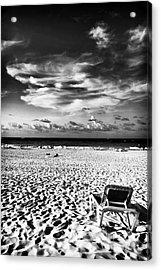 Punta Cana Lounge Acrylic Print by John Rizzuto