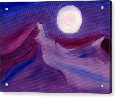 Purple Night 2 Acrylic Print by Hakon Soreide