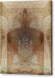 Qi Acrylic Print by Christopher Gaston