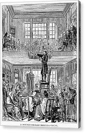 Quaker Meeting House Acrylic Print by Granger