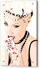 Queen Of Queens Acrylic Print by Tbone Oliver