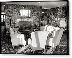 Queen Wilhelmina Lodge Acrylic Print by Ricky Barnard