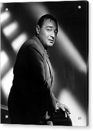 Quicksand, Peter Lorre, 1950 Acrylic Print by Everett