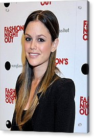 Rachel Bilson At A Public Appearance Acrylic Print by Everett
