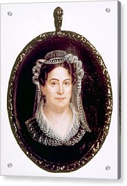Rachel Jackson 1767-1828, Wife Acrylic Print by Everett
