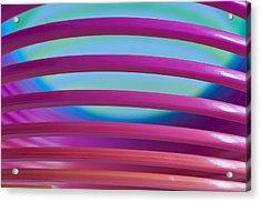 Rainbow 4 Acrylic Print by Steve Purnell