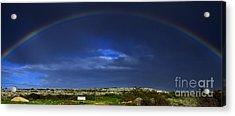 Rainbow Acrylic Print by Stelios Kleanthous