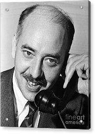 Ralph Ingersoll (1900-1985) Acrylic Print by Granger