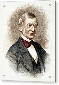 Ralph Waldo Emerson   Acrylic Print by Granger