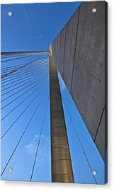 Ravenel Overhead Day - Vertical Acrylic Print by Donni Mac